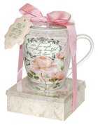 Mug & Notepad Giftset (Vintage Rose Collection Series)