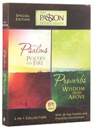 Tpt Passion Translation: Psalms & Proverbs (2 in 1 Collection With Devotions)