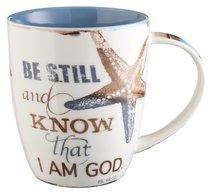 Be Still Ceramic Mug: Be Still and Know That I Am God