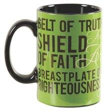 Stoneware Mug: Armor