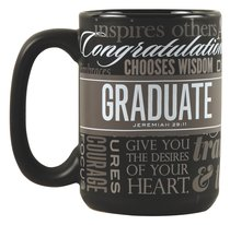 Ceramic Mug: Defining Moments - Graduate (Jeremiah 29:11)