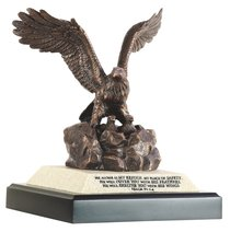 Moments of Faith Sculpture: Eagle With Eaglets (Psalm 91:1-4)