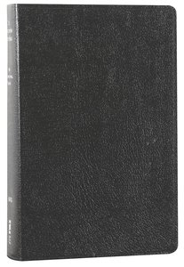 NIV Life Application Study Bible Personal Black (Red Letter Edition)