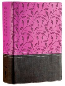 NIV Zondervan Study Bible Full Colour Orchid/Chocolate (Black Letter Edition)