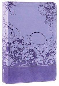 NIV Teen Study Bible Spring Violet (Black Letter Edition)