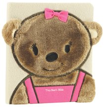 Tiny Bears Bible Pink (Faux-fur)
