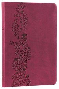 NKJV Ultraslim Bible Cranberry