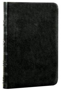 ESV Value Compact Bible Black Trutone (Black Letter Edition)