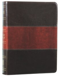 KJV Holman Study Bible Saddle Brown