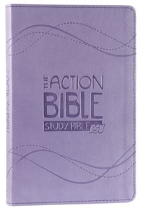 ESV Action Study Bible Lavender