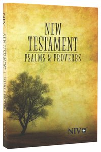 NIV Pocket New Testament With Psalms and Proverbs Tree