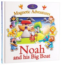 Candle Bible For Toddlers Magnetic Adventures: Noah and His Big Boat