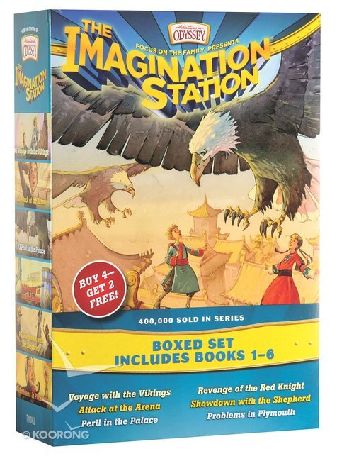 Voyage with the Vikings (AIO Imagination Station Books)