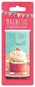Magnetic Bookmark Large: Life is Beautiful, Make Today Great