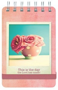 Wirebound Notepad: Life is Beautiful, This is the Day the Lord Has Made