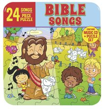 24 Bible Songs (Cd And Puzzle Set)