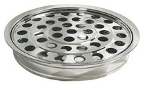 Communion Tray and Disc: Silver