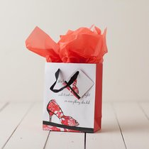 Gift Bag Small: Walk By Faith (Incl Tissue Paper & Gift Tag)