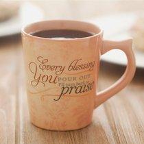 Classic Ceramic Mug: Graceful Melody