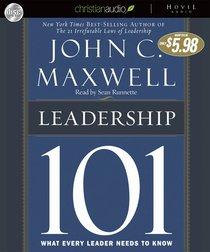 Leadership 101 (Unabridged)