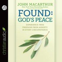 Found: Gods Peace (Unabridged, 2 Cds)