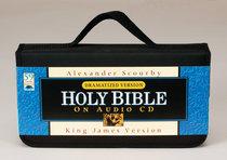 KJV Scourby Dramatized Bible on Audio CD Voice Only