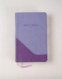 KJV Reference Bible Giant Personal Violet Pastel