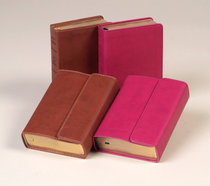 KJV Hendrickson Compact Reference Large Print With Magetic Flap Closure Berry