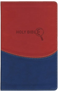 NRSV Kids Study Bible With Apocrypha Brick Red on Blue