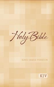 KJV Large Print Bible (Red Letter Edition)