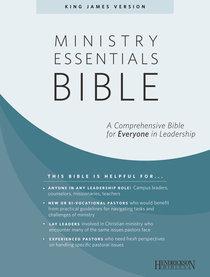 KJV Ministry Essentials Bible Black