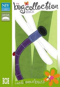 NIV Compact Thinline Bug Collection Bible Dragonfly (Red Letter Edition)