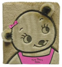 Tiny Bears Bible Faux Fur (Pink)