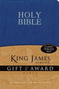 KJV Gift and Award Blue