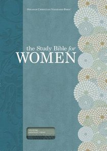 HCSB Study Bible For Women Personal Size Indexed Teal/Sage
