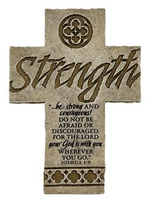 Cross Desktop: Strength (15cm X 10cm)