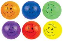 Bouncy Ball Pack of 6 Jesus Loves You (38mm Balls)