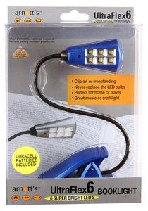 Ultraflex6 Booklight With 6 Super Bright Leds Blue