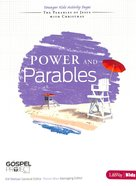 Power and Parables (Younger Kids Activity Pages) (#10 in The Gospel Project For Kids 2012-15 Series)