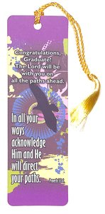 Tassel Bookmark: In All Your Ways Acknowledge Him