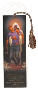 Tassel Bookmark: Forgiven, If We Confess Our Sins, 1 John 1:91