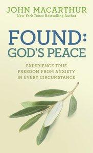 Found: Gods Peace