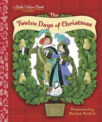 the 12 days of christmas little golden book series - 12 Days Of Christmas Book