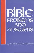 Bible Problems and Answers (Classic Re-print Series)