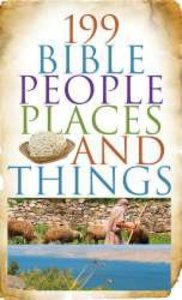 Value Books:199 Bible People, Places, and Things