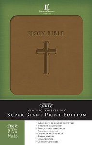 NKJV Holy Bible Super Giant Print Edition