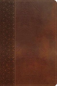 KJV Gift Bible Brown (Red Letter Edition)