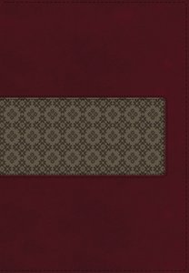 KJV Study Bible Rich Ruby/Warm Taupe (Red Letter Edition)