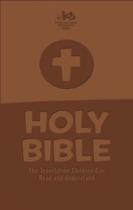 ICB Holy Bible Brown (Black Letter Edition)