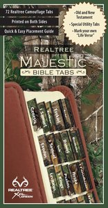 Majestic Bible Tabs: Camouflage